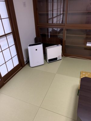 All rooms are equipped with humidifying air purifiers (equipped with Plasmacluster).